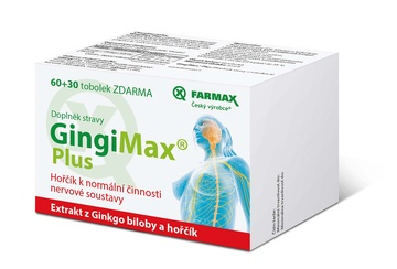 GingiMax® Plus 60+30 tob. ZDARMA