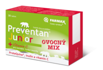 Preventan® Junior ovocný mix 30 tablet
